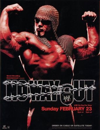 WWE No Way Out 2003 Poster