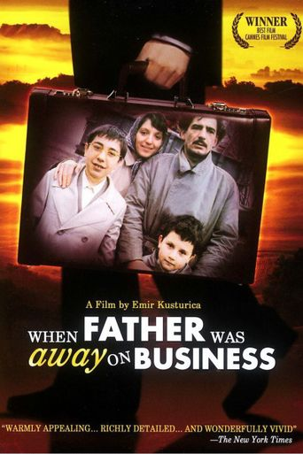 When Father Was Away on Business Poster
