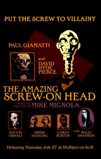 The Amazing Screw-On Head Poster