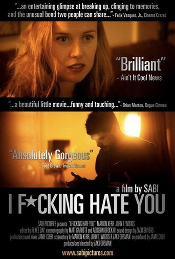 I Fucking Hate You Poster