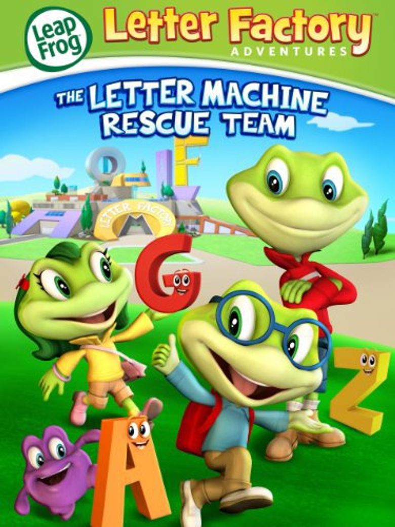 Leapfrog: Letter Factory Adventures - The Letter Machine Rescue Team Poster