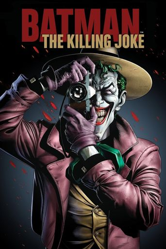 Batman: The Killing Joke Poster