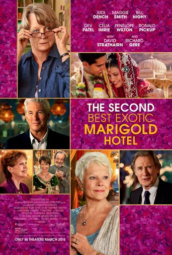 Watch The Second Best Exotic Marigold Hotel