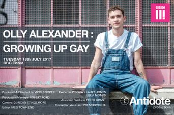 Olly Alexander: Growing Up Gay Poster