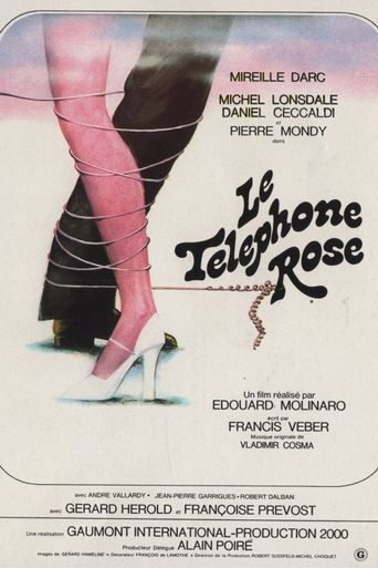 The Pink Telephone Poster