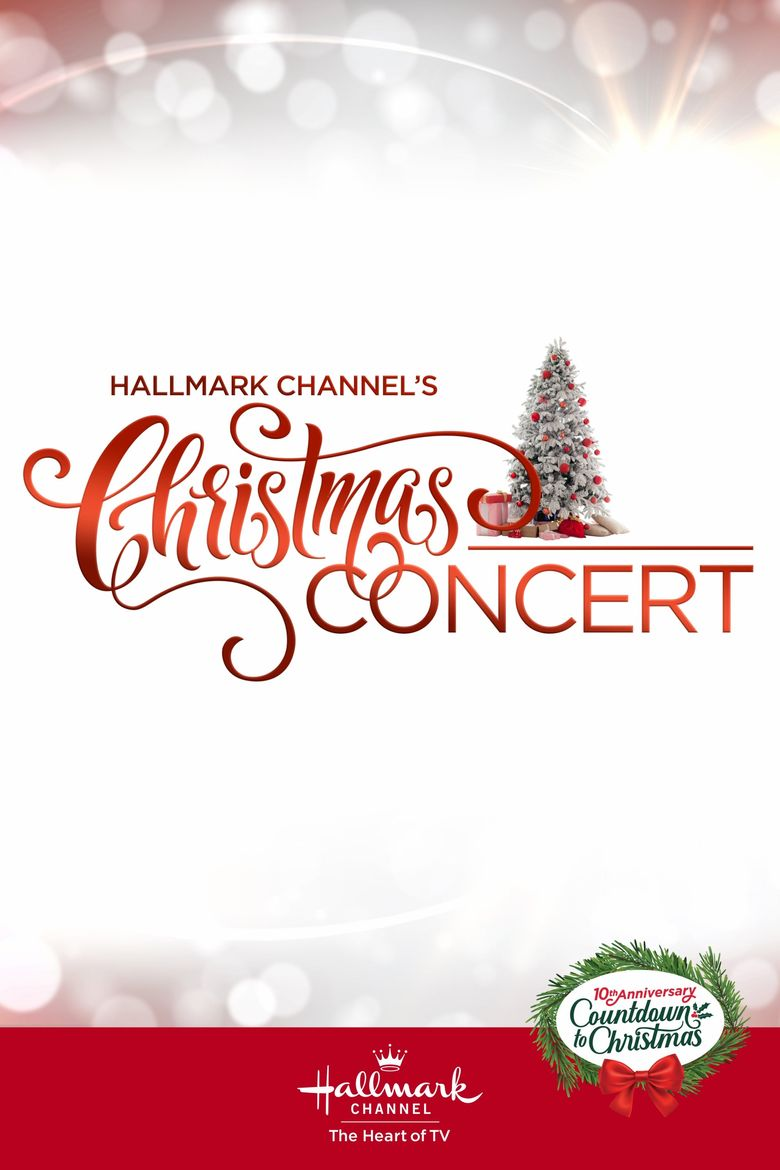 Hallmark Channel's Christmas Concert Poster