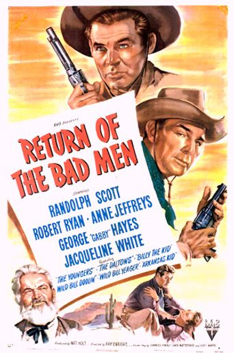 Return of the Bad Men Poster