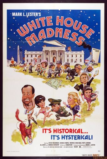 White House Madness Poster