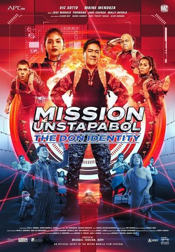 Mission Unstapabol: The Don Identity Poster