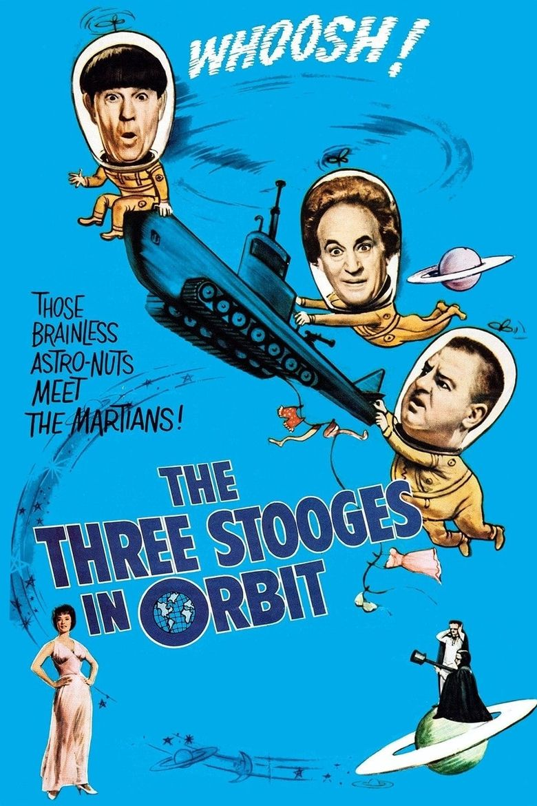 The Three Stooges in Orbit Poster