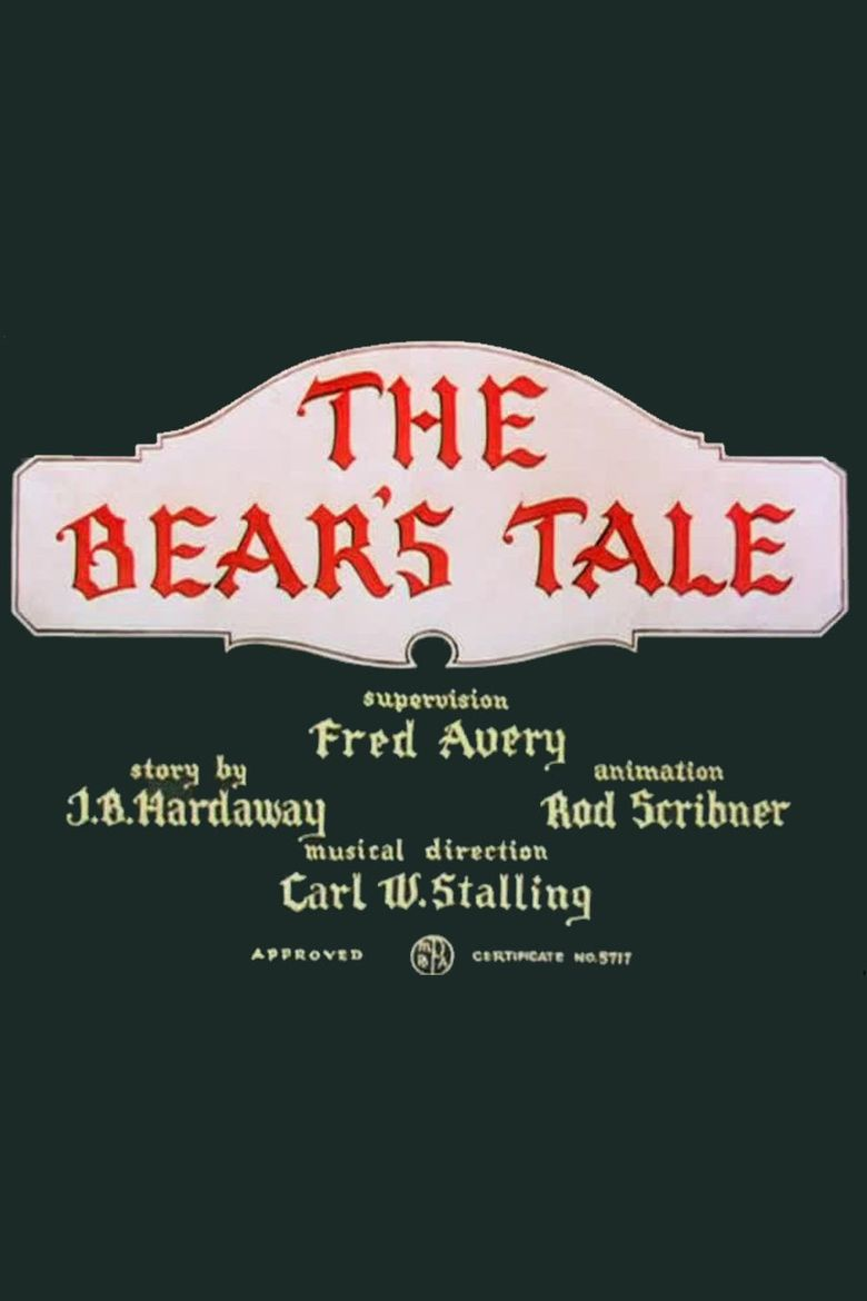The Bear's Tale Poster