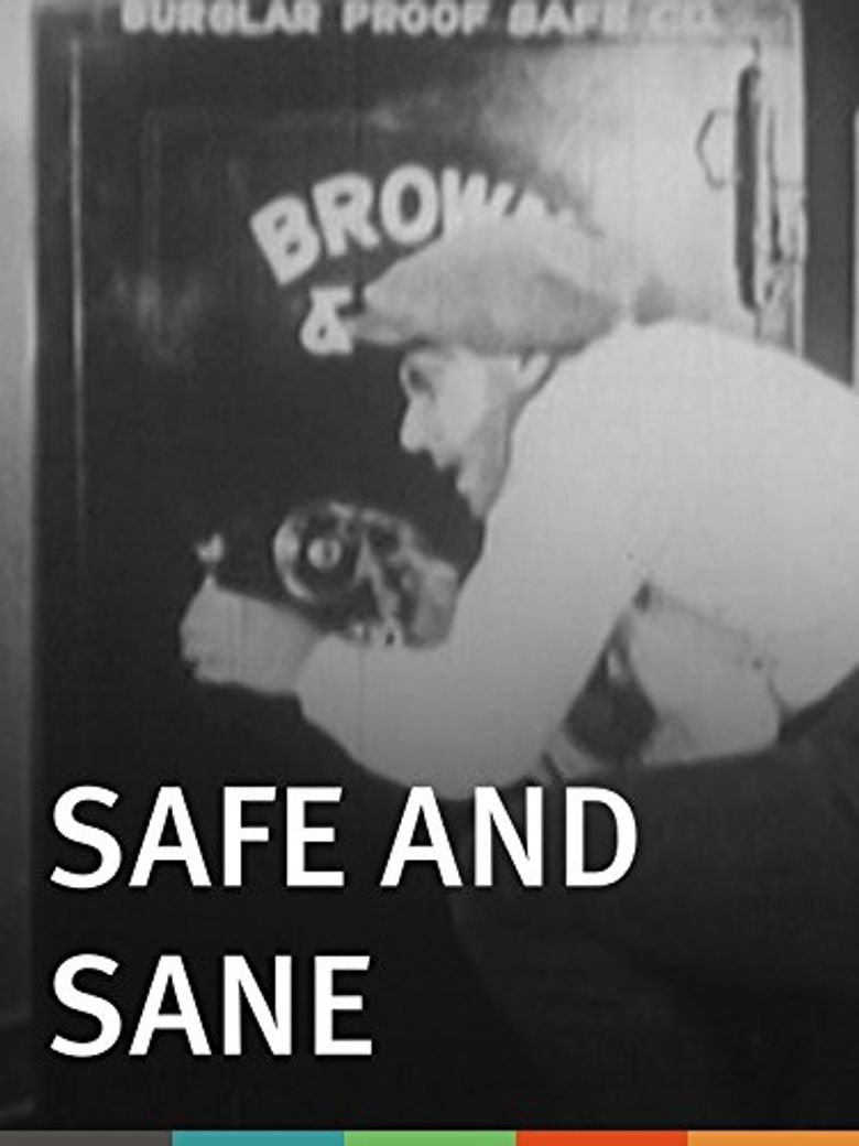 Safe and Sane Poster