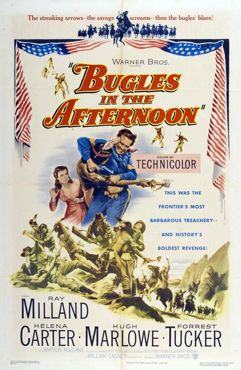 Bugles in the Afternoon Poster