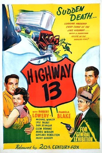 Highway 13 Poster