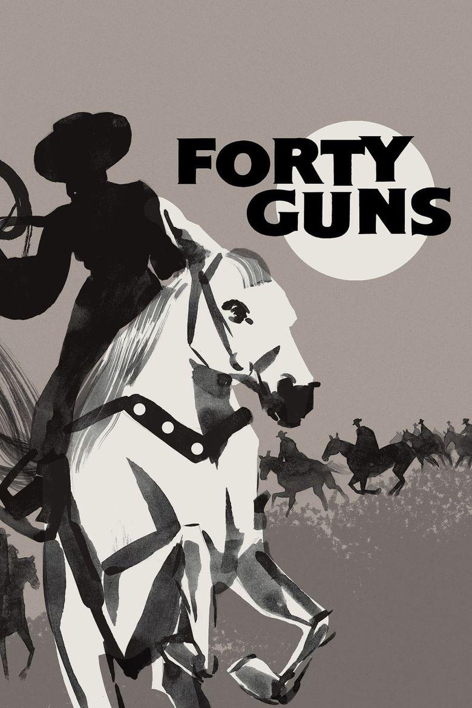 Forty Guns Poster