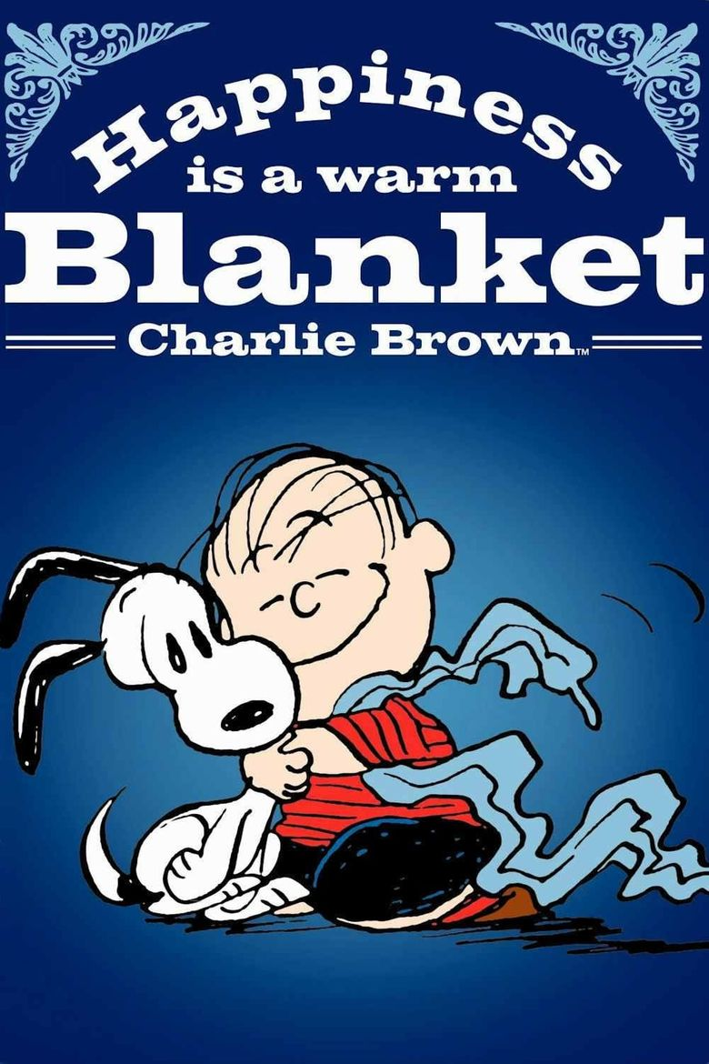 Happiness Is a Warm Blanket, Charlie Brown Poster