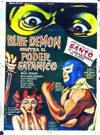 Blue Demon vs. the Satanic Power Poster