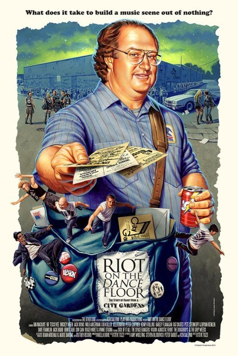 Riot on the Dance Floor Poster
