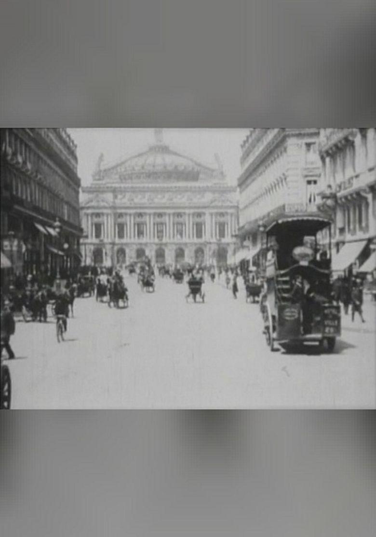 Avenue de l'opéra Poster