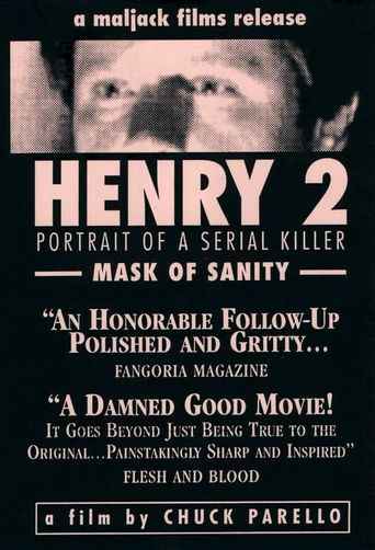 Henry: Portrait of a Serial Killer, Part 2 Poster