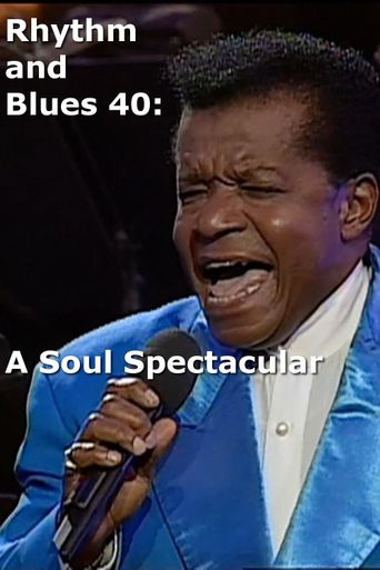 Rhythm and Blues 40: A Soul Spectacular Poster