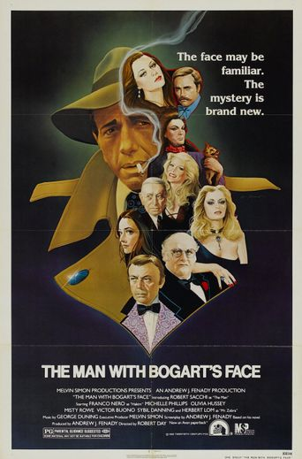 The Man With Bogart's Face Poster