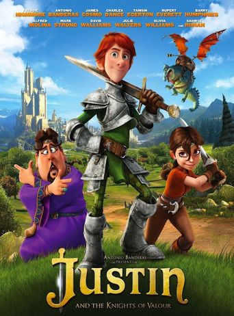 Justin and the Knights of Valour Poster