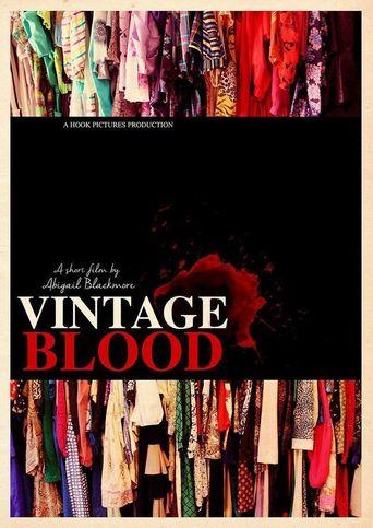Vintage Blood Poster