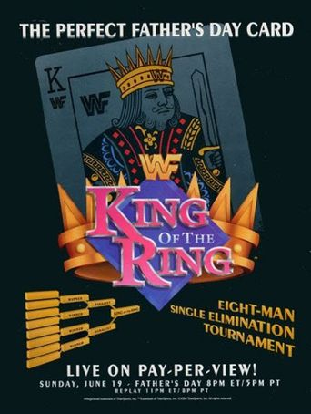 WWE King of the Ring 1994 Poster