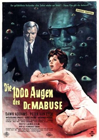 The 1,000 Eyes of Dr. Mabuse Poster