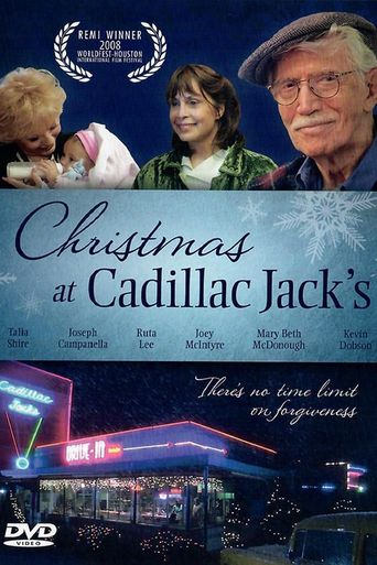 Christmas at Cadillac Jack's Poster