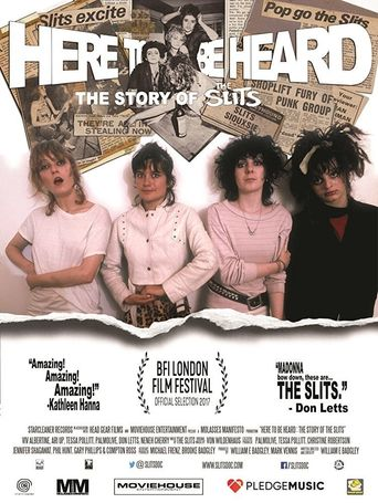 Here to be Heard: The Story of the Slits Poster