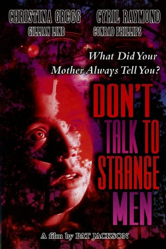Don't Talk to Strange Men Poster