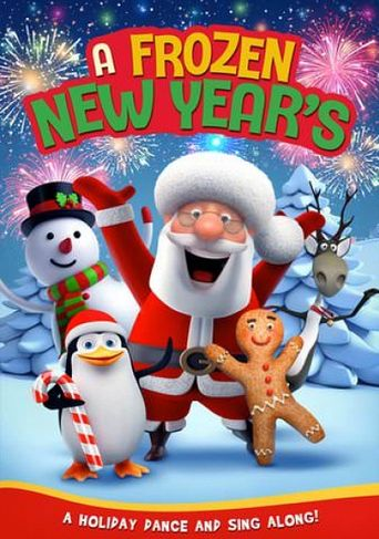 A Frozen New Year's Poster