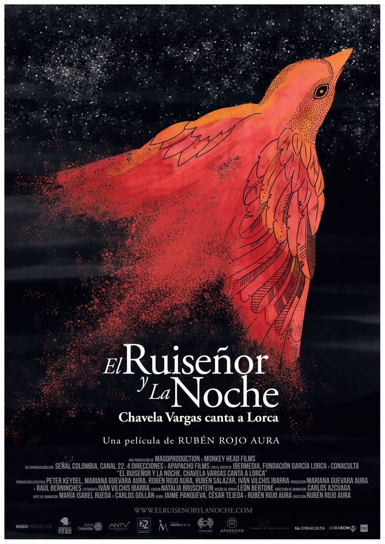 The Nightingale and the Night. Chavela Vargas sings Lorca. Poster