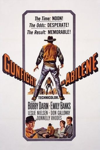 Gunfight in Abilene Poster