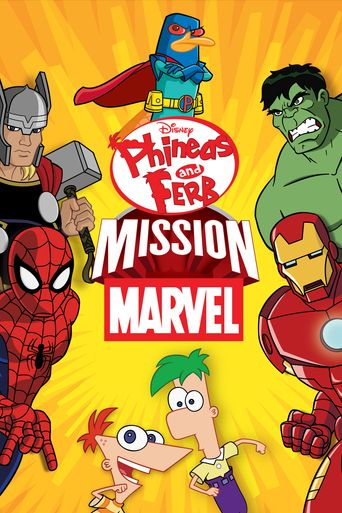 Phineas and Ferb: Mission Marvel Poster