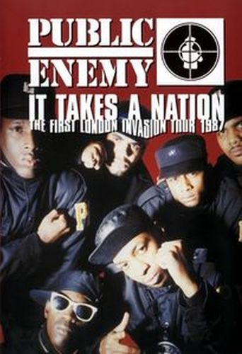 Public Enemy: It Takes a Nation - The First London Invasion Tour 1987 Poster
