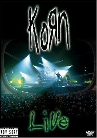 Korn: Live Poster