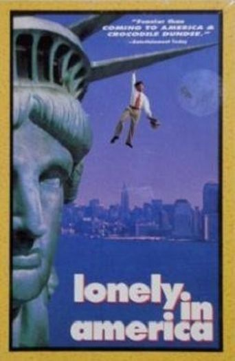 Lonely in America Poster