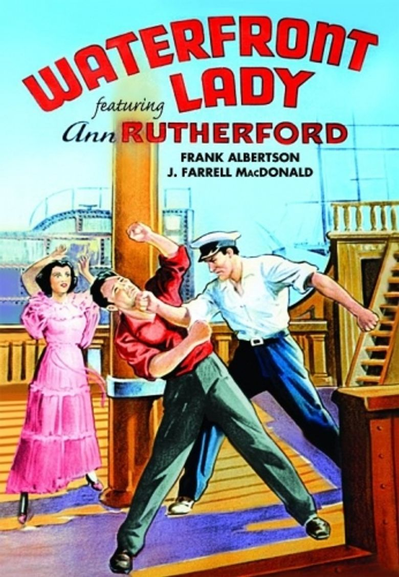 Waterfront Lady Poster