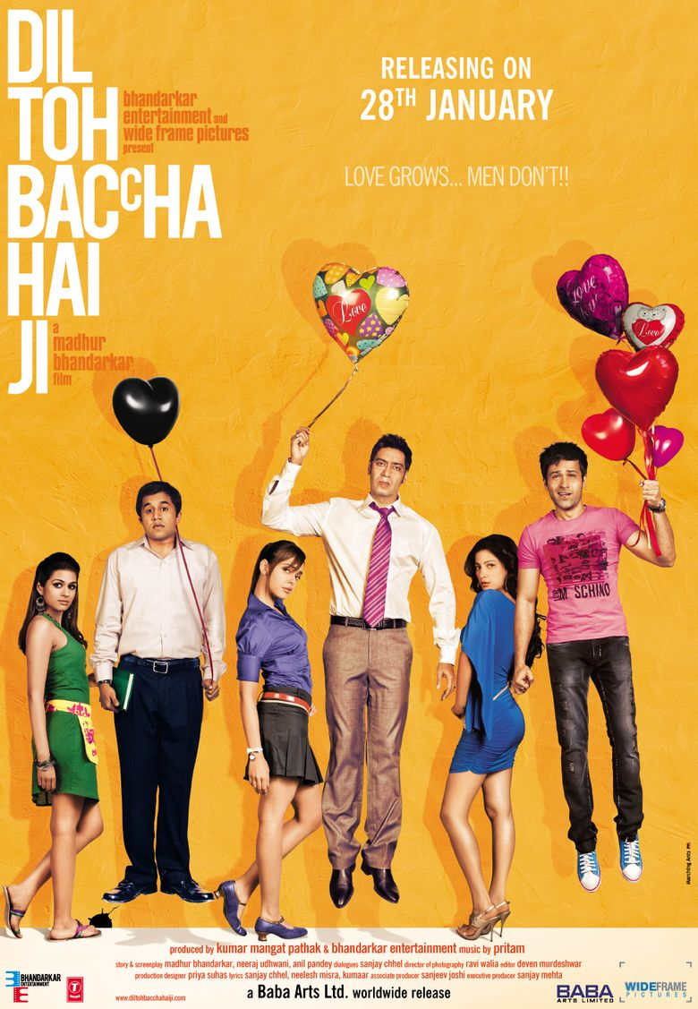 Dil Toh Baccha Hai Ji Poster