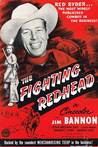 The Fighting Redhead Poster