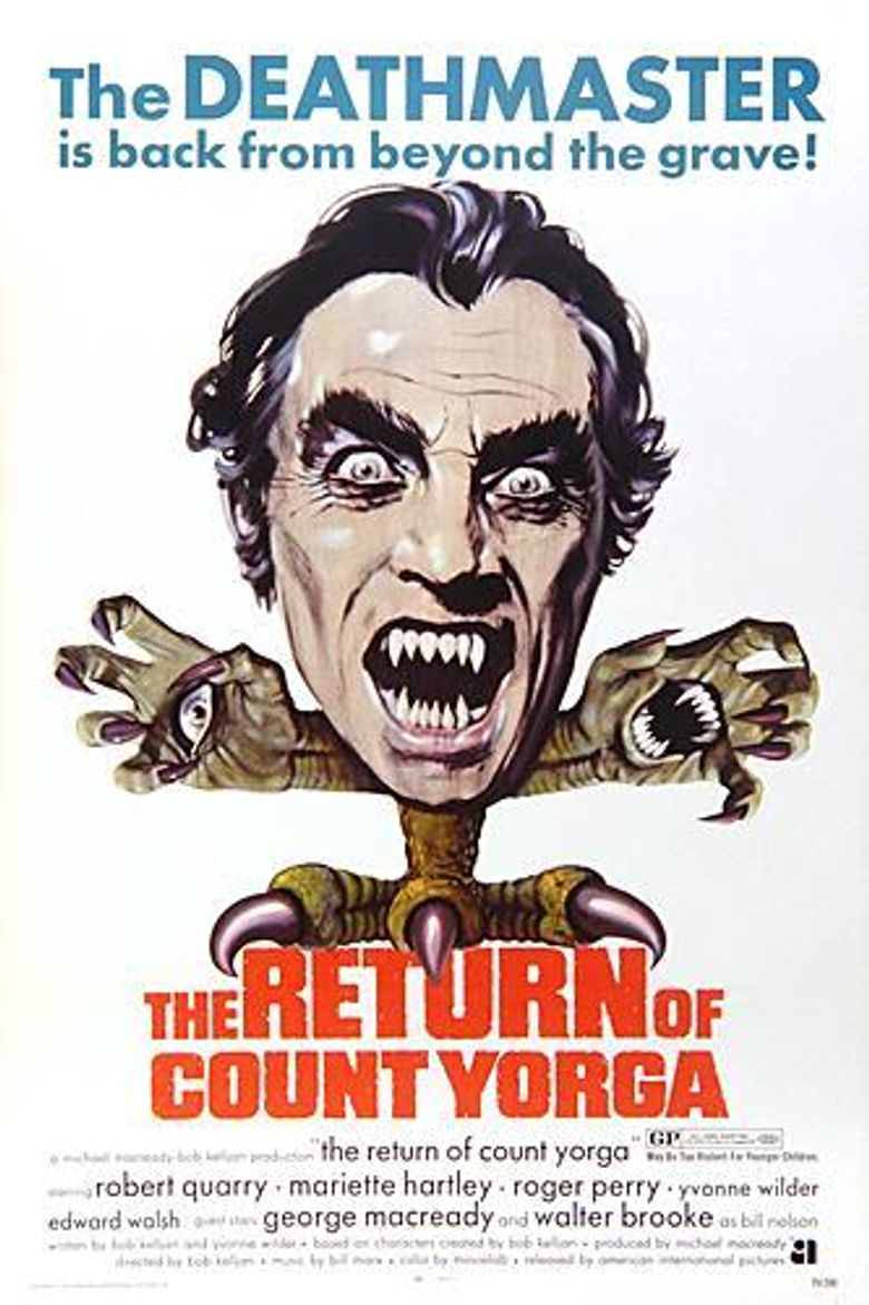 The Return of Count Yorga Poster