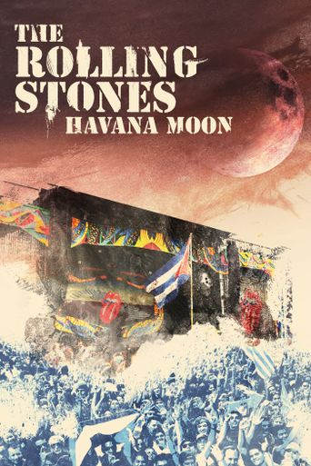 The Rolling Stones - Havana Moon Poster