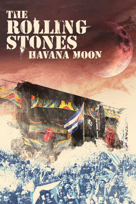 The Rolling Stones : Havana Moon Poster