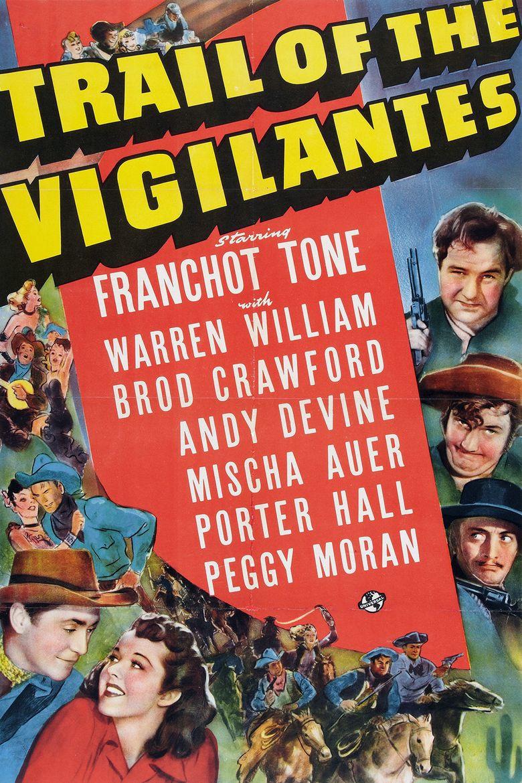 Trail of the Vigilantes Poster