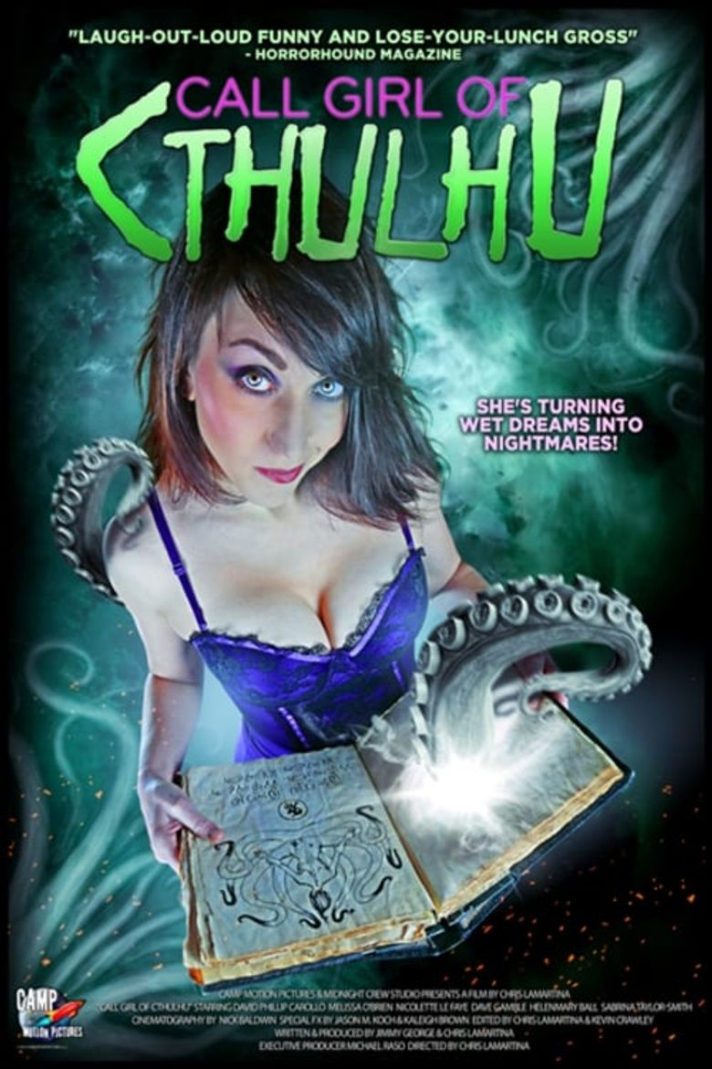 Call Girl of Cthulhu Poster