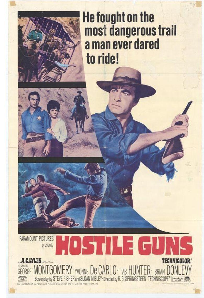 Hostile Guns Poster
