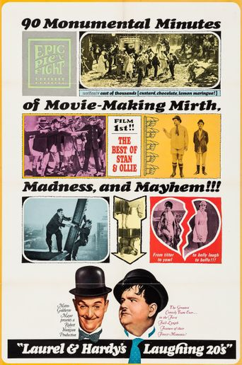 Laurel and Hardy's Laughing 20's Poster